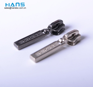 Hans Customized Purses Rectangle Custom Zipper Slider