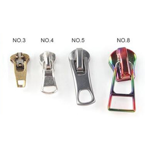 Hans Custom Metal Zinc Alloy Zipper Pulls Logo