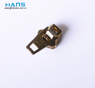 Hans Custom Brand Logo Auto Lock Zipper Slider