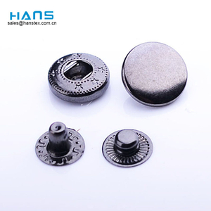 Hans Factory Venta Directa Diseño Metal Snap Button