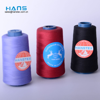 Hans Made in China fabricante fuerte hilo de coser industrial